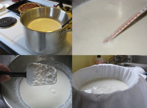 mascarpone-making
